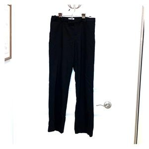 Cold water creek black trouser size 8